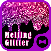 Wallpaper Melting Glitter