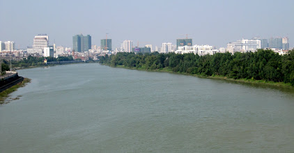 Photo: Day 216 - A View of the City of Qinzhou on the River Qin Jiang