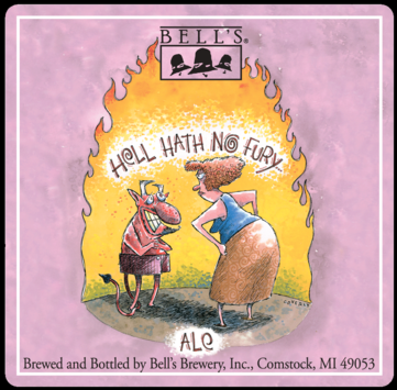 Logo of Bell's Barrel Aged Hell Hath No Fury