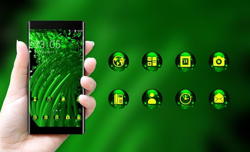 Download Fantasy theme for Oppo A83 line weaving wallpaper