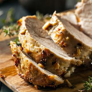 Latin Citrus Marinated Rotisserie Pork Loin Recipe
