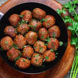 Paleo Meat Balls.