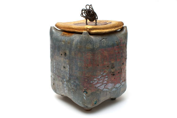 Robert Cooper Ceramic Tea Caddy 001