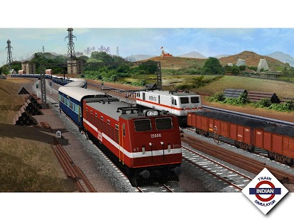 Indian Train Simulator- screenshot thumbnail