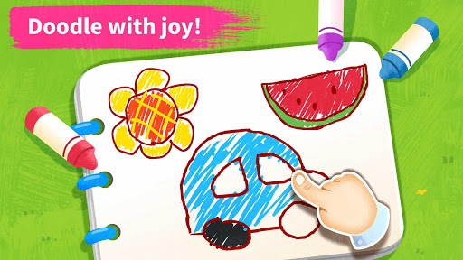 Baby Panda's Art Classroom: Music & Drawing 8.39.11.00 7