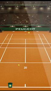 Tennis by Peugeot screenshot 1