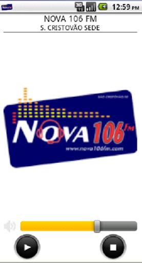 NOVA 106 FM - S. CRISTÓVÃO SEDE 1.4.7 screenshots 2