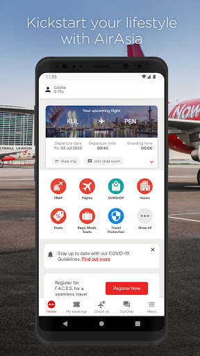 AirAsia screenshot 1