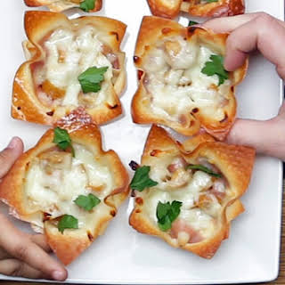 Grab Your Kid And Make These Tasty Cheesy Zucchini Sausage Cups.
