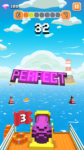 Blocky Tower - Knock Box Balls Ultimate Knock Out android2mod screenshots 2