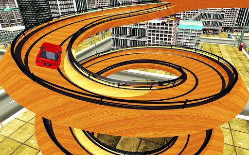 Spiral Ramp : Crazy Mega Ramp Car Stunts Racing 1.0.1 screenshots 6