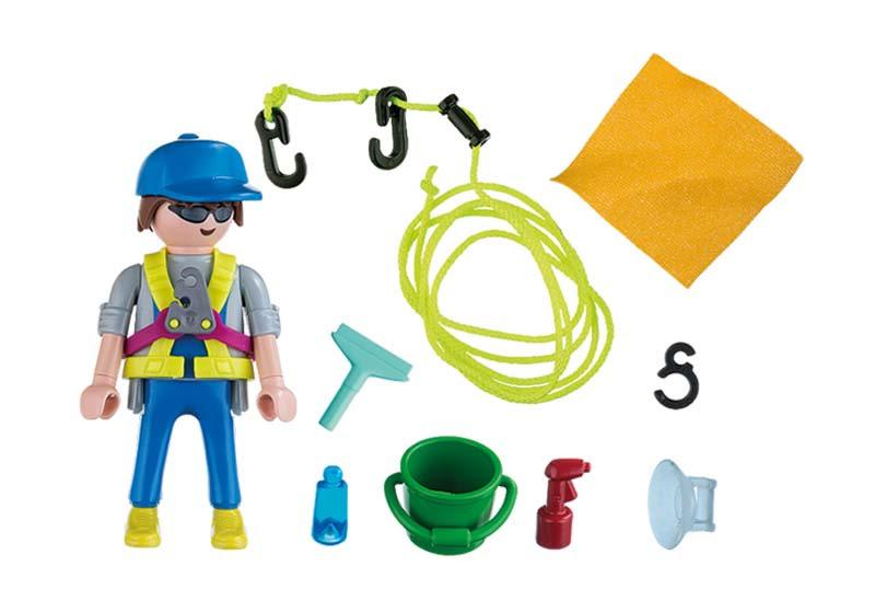 Contenido real de Playmobil® 5379 Limpiador de Ventanas