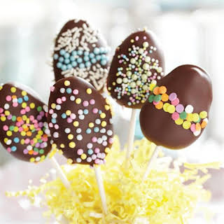 Chocolate Peanut Butter Easter Eggs.