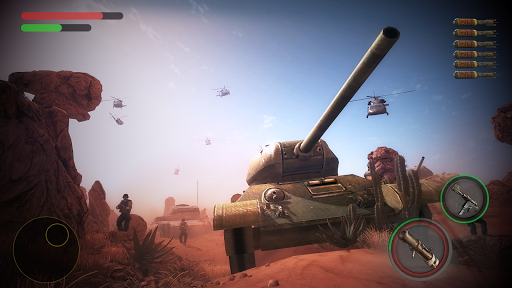 Tank Battle - Gunner War Game -modern tanks 2018 - screenshot