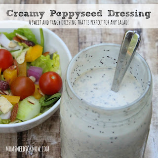 Creamy Poppy Seed Dressing | My Absolute Favorite Salad Dressing Ever!.