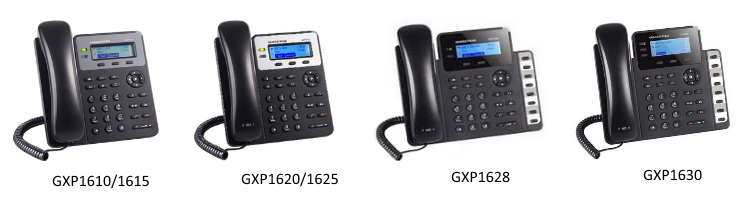 How to configure Grandstream GXP 16XX Series for 3CX