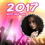 New Year Photo Frames 2017 Icon