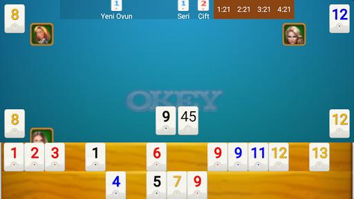 Okey Gold Internetsiz ve Multiplayer NFC Bluetooth 14 screenshots 1