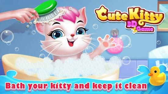 Cute Kitty - My 3D Virtual Cat - náhled