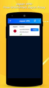 App Japan VPN-Free Unlimited Japan Proxy APK for Windows Phone