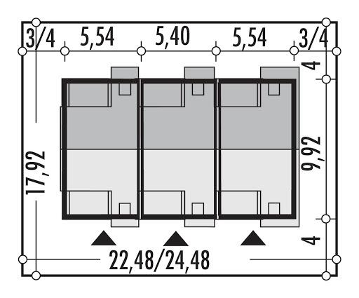 Emilka szeregowy 3 segmenty LSP - Sytuacja