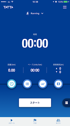 TATTA ~RUNNET連動GPSトレーニングアプリのおすすめ画像2
