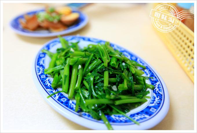 夯園牛肉麵館菜單燙青菜