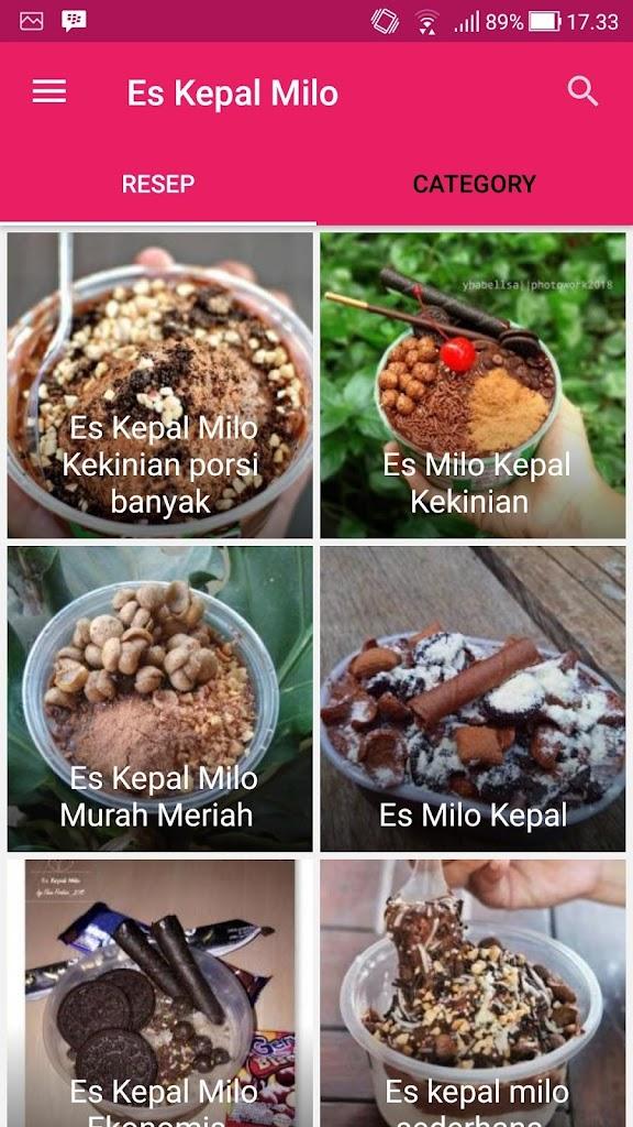 Resep Es Kepal Milo : resep, kepal, Resep, Kepal, 2.4.0, Download, Com.projectsatudroid.resepeskepalmilo