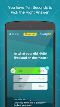 Swag IQ apk screenshot