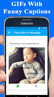 Funny GIFs For WhatsApp & Facebook - náhled