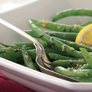 Green Beans with Lemon-Herb Butter Recipe