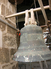 Photo: up in the bell tower of the Church of the Resurrection
