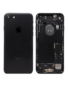 iPhone 7G Housing with small parts Original Pulled Black