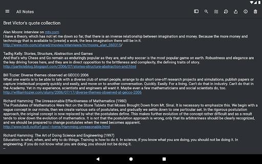 Simplenote screenshot 14