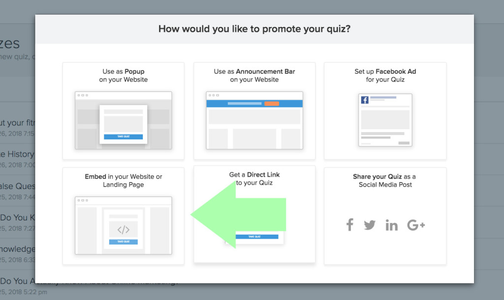 How to Put a Quiz in Your Squarespace Website (Step-by-Step