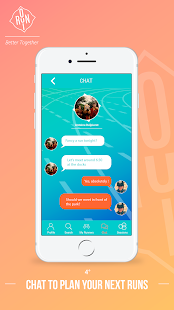 OuiRun - find your new running partners & buddies - náhled
