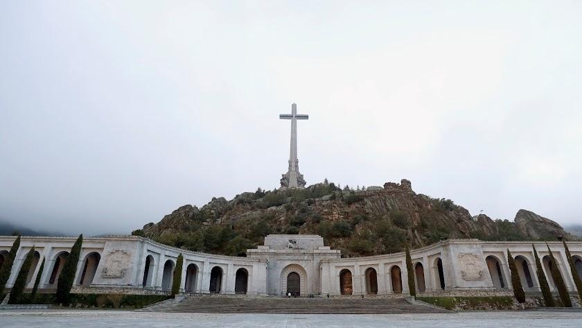 Plano general de la Basílica del Valle de los Caídos.