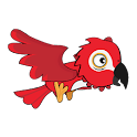 Flying Parrot Free icon