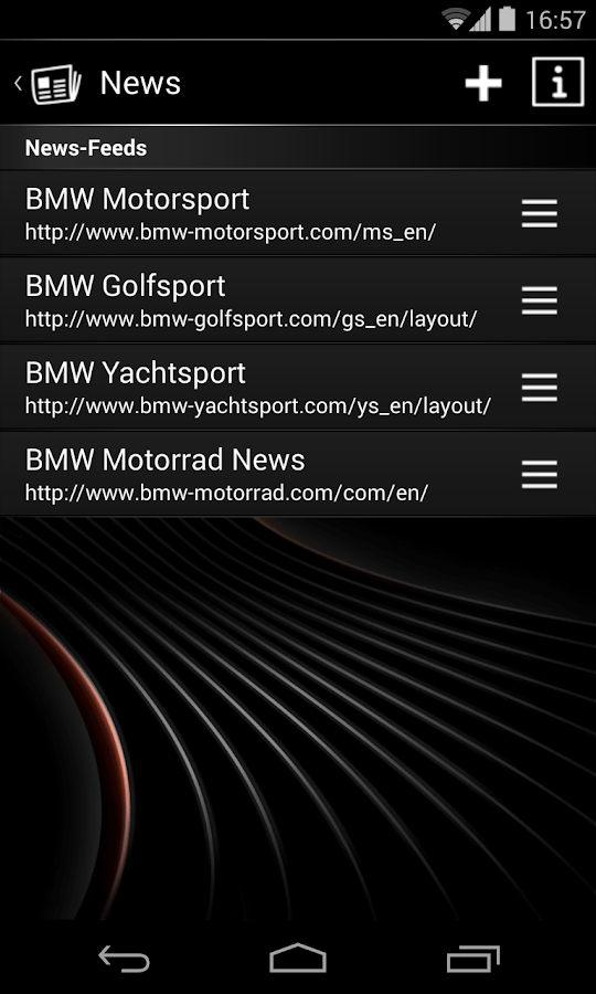 BMW Connected Classic – Screenshot