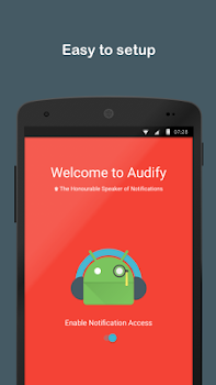 Audify Notifications Reader