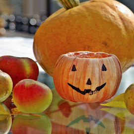 Coming soon by Ciprian Apetrei - Public Holidays Halloween ( pumpkin, decoration, apples, brittany, halloween,  )
