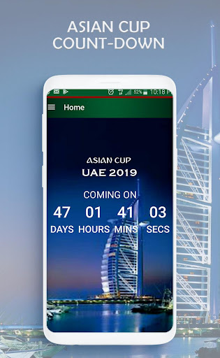 Fixtures & Live scores for Asian cup 2019 2 screenshots 1