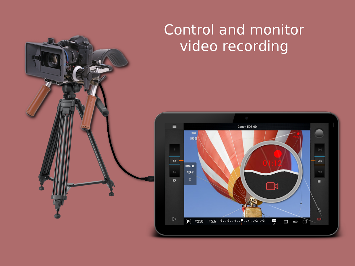 Camera Dslr Camera With Remote Control camera remote control demo android apps on google play screenshot