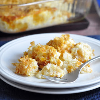 Cheesy Potato Casserole (a.k.a. Funeral Potatoes)