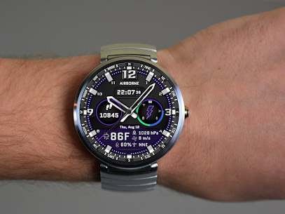 Airborne Watch Face 1.3 APK with Mod + Data 2