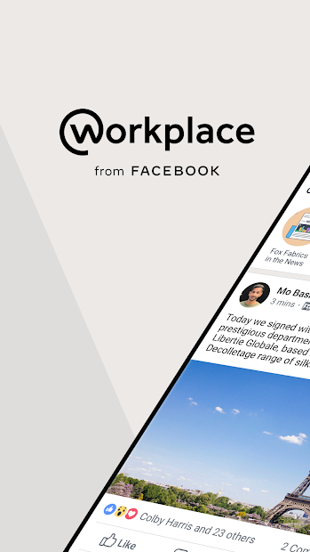 Workplace from Facebook Android App Screenshot