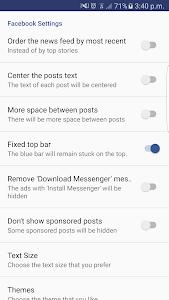 MicroFace for Facebook v1.0.0