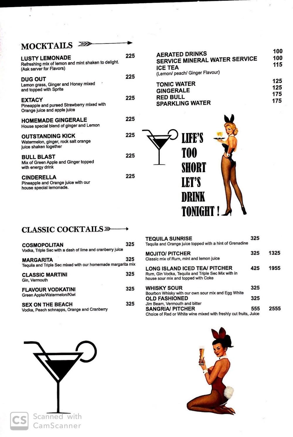 Playboy Tap menu 3