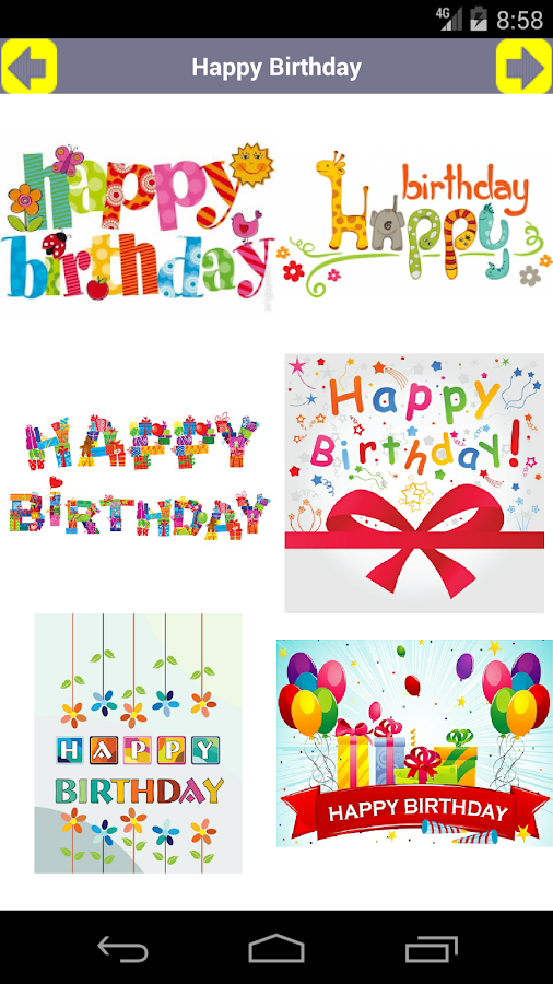 Happy Birthday Card and GIF Android Apps on Google Play – Picture of Happy Birthday Cards
