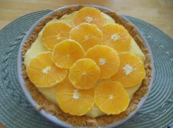 Orange Cream Pie Recipe